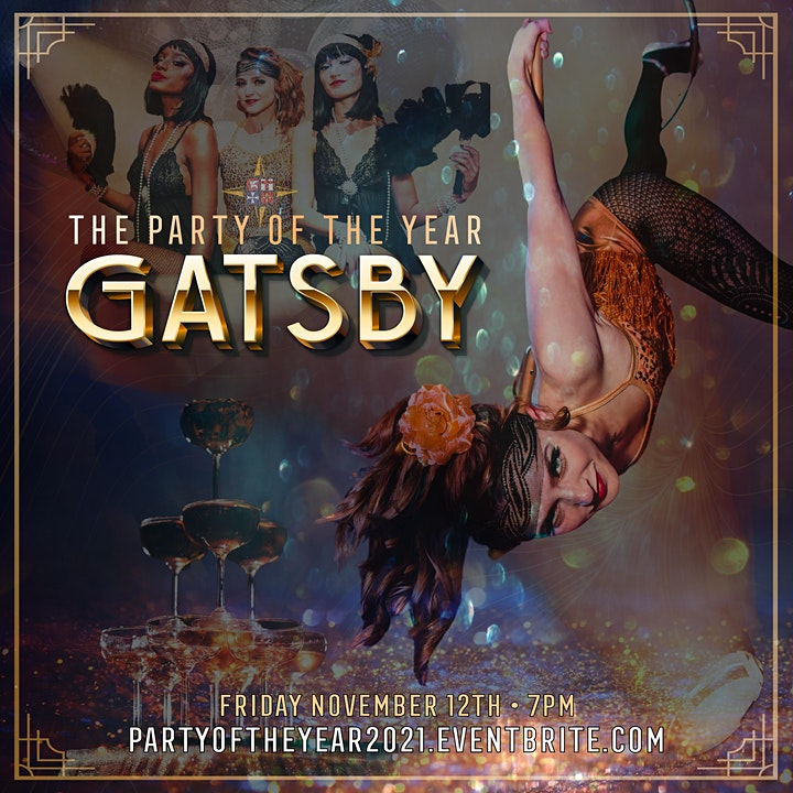 The Party of the Year: GATSBY image