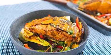 FREE Virtual Cooking Class: Homemade's One Pan Miso Glazed Fish tickets