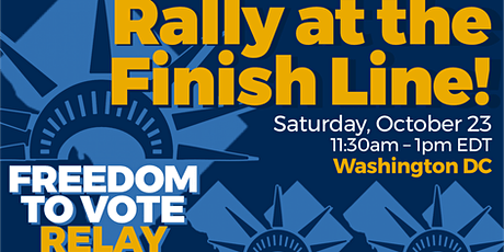 Ride With Us To The Freedom to Vote Relay! Bus Trip to Washington, DC tickets