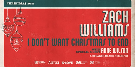 Food for the Hungry VOLUNTEER - Zach Williams Christmas Tour / Spencer, IA tickets