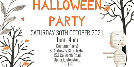 Kids Halloween Special @St Andrew's Church, Upper Leytonstone tickets