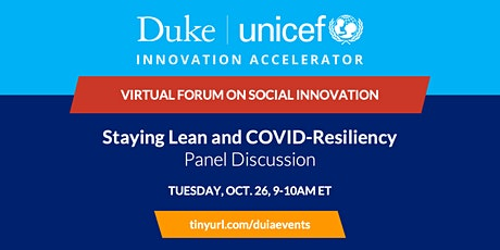 Panel Discussion: Staying Lean and COVID-Resiliency tickets