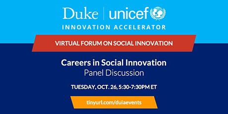 Panel Discussion: Careers in Social Innovation tickets