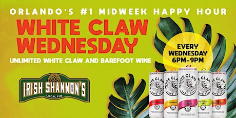 White Claw Wednesdays  | Unlimited White Claw |  Downtown Orlando tickets