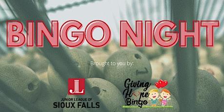 BINGO Night for Junior League tickets