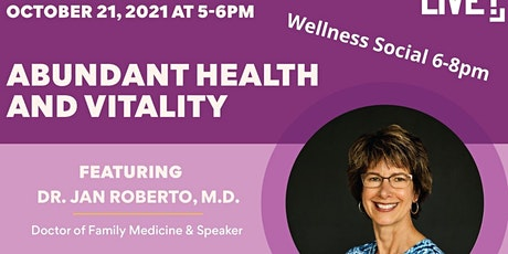 Abundant Health & Vitality tickets