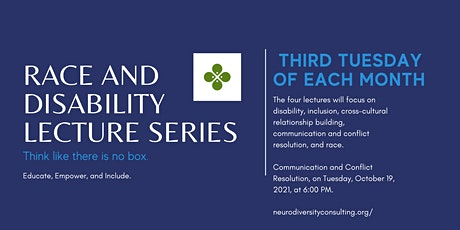Race and Disability Lecture Series tickets