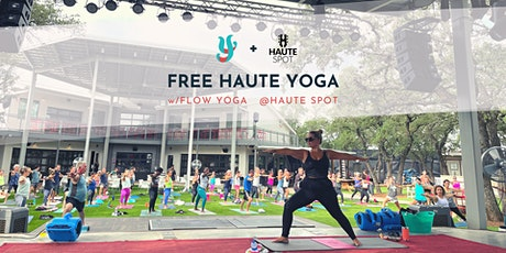 Haute Yoga at Haute Spot tickets