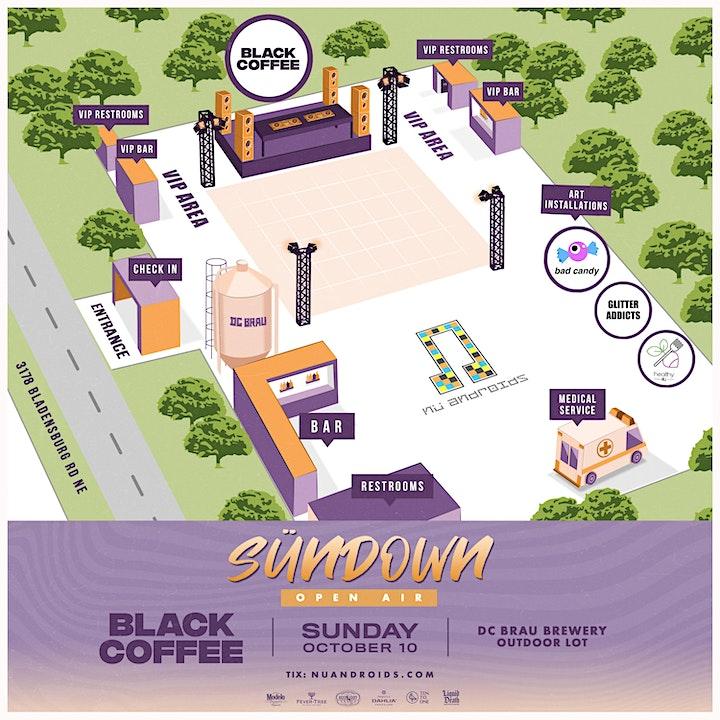 Nü Androids Presents SünDown: Black Coffee [Open Air] (21+) image