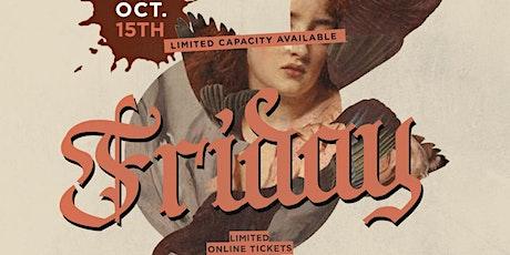 Fiction Fridays @ Fiction   Fri Oct 15   $400 Boot tickets