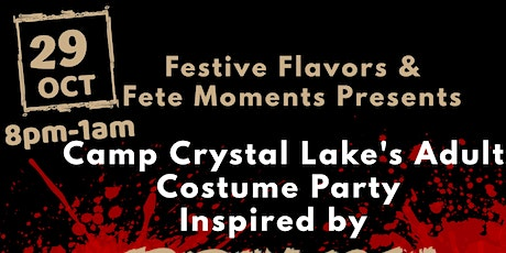 Camp Crystal Lake's Adult Costume Party tickets