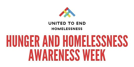 Get Involved in Hunger & Homelessness Awareness Week | Community Chat tickets