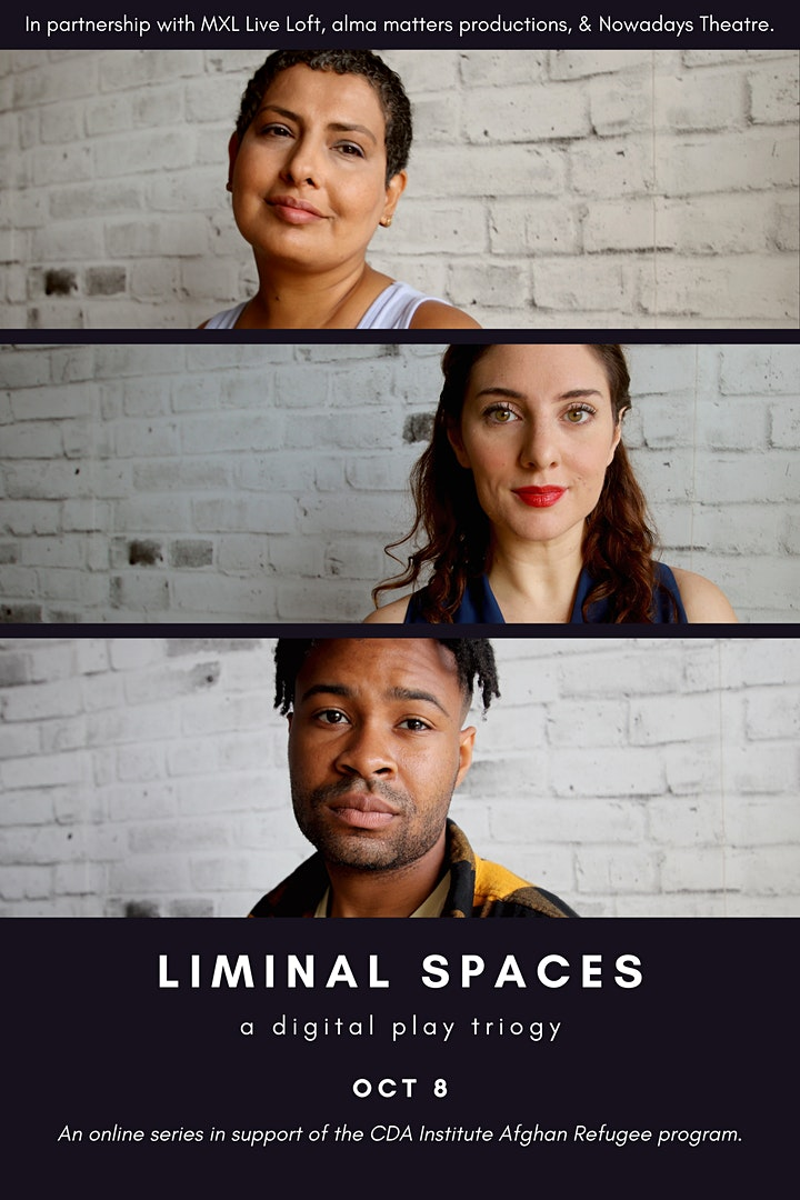 Liminal Spaces: A Digital Play Trilogy (EXTENDED) image