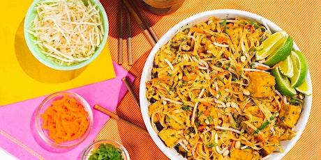 Homemade Fresh Pad Thai: FREE Virtual Cooking Class tickets