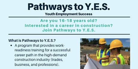 Pathways to Y.E.S. Information Session Registration tickets