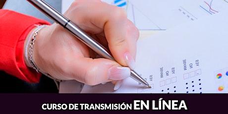Taller de Preparación para el examen de certificación en Contabilidad..... entradas