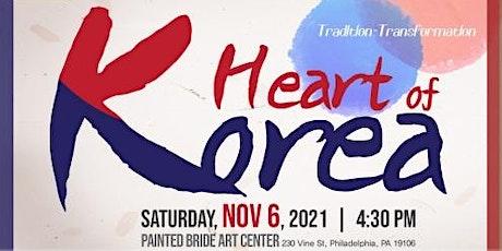 2021 HEART OF KOREA: Music Concert tickets