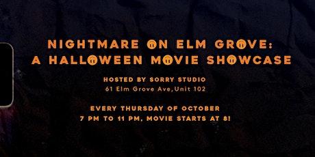 Nightmare On Elm Grove: Halloween Movie Showcase tickets