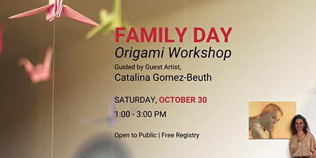 Family Day: Origami Workshop followed by a family-friendly Halloween Movie tickets