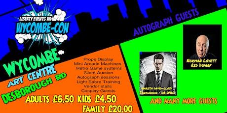 Wycombe Film,TV & Comic Con tickets