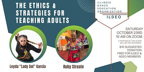 The Ethics and Strategies for Teaching Adults tickets