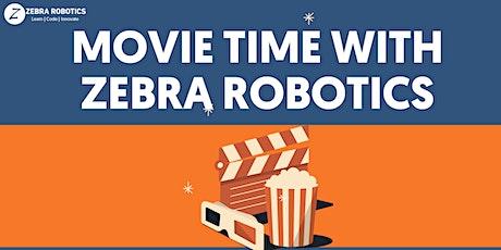Movie Time with Zebra Robotics tickets