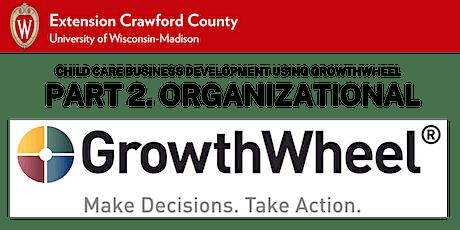 Part 2. Child Care Business Development using GrowthWheel: Organizational tickets