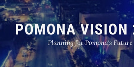Pomona Vision 2030 Community Convening tickets