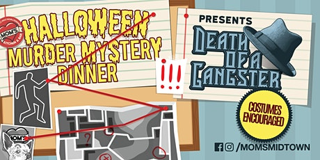 Murder Mystery Dinner NYC Halloween dinner party at Mom's Kitchen & Bar tickets