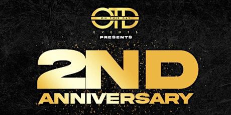 OTD Events 2nd Anniversary tickets