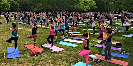 Alo Yoga Sponsored Outdoor Yoga, Breathwork + Sound Bath tickets