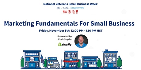 Marketing Fundamentals for Small Business tickets
