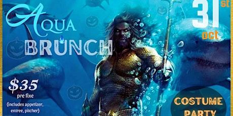 Aqua Brunch Halloween Edition tickets