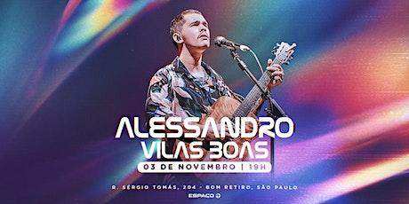 Alessandro Vilas Boas ingressos