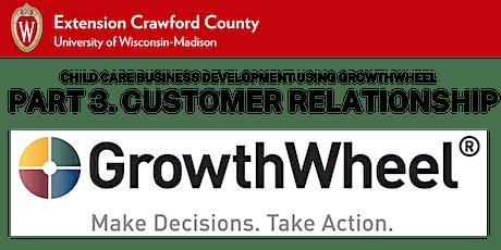 Part 3. Child Care Business Development-GrowthWheel: Customer Relationships tickets