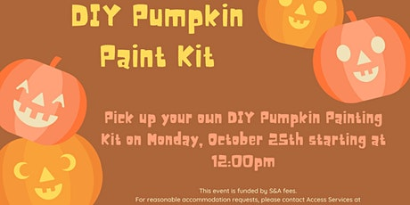 DIY Pumpkin Painting Kits tickets
