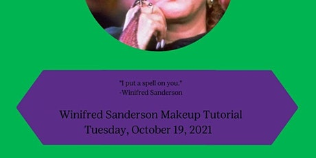 Winifred Sanderson Makeup Tutorial tickets