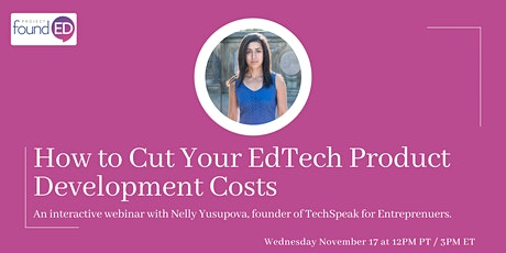 How to Cut Your EdTech Product Development Costs tickets