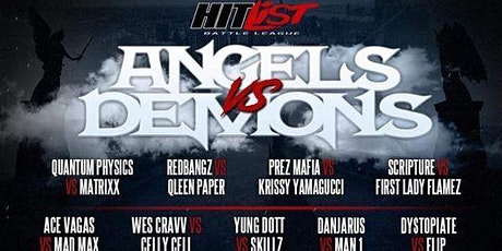 Angels Vs Demons tickets