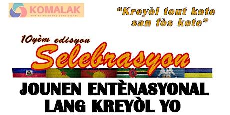 Jounen Entènasyonal Lang Kreyòl 2021  -  International Creole Day 2021 tickets