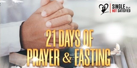 21 Days of  Prayer and Fasting for Mature Singles tickets