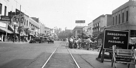 """""""Images of Downtown Redlands in the 1930's"""" boletos"""