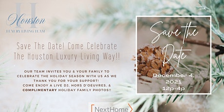 Houston Luxury Living Team-Client Appreciation Event-Cheers To You! tickets
