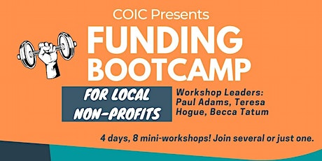 2021 Fall Funding Bootcamp for Non-Profits tickets