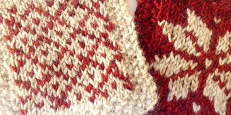 Knitted Christmas Tree Bunting/Coaster (Christmas Makes Weekend) tickets