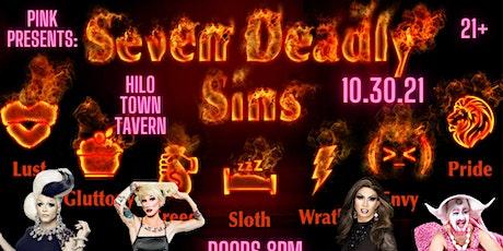 Pink Presents: 7 Deadly Sins tickets