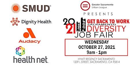 2021 GSUL Diversity Job Fair - Hyatt Regency Sacramento tickets