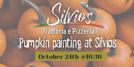 Kids Pumpkin painting @ Silvio's tickets