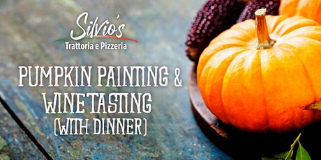 Pumpkin Painting, Wine Tasting, and Dinner tickets