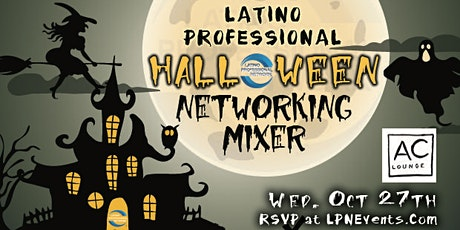 LPN's Halloween Latino Networking Mixer tickets